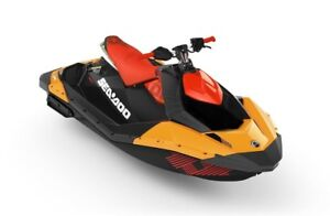 2019 Sea-Doo/BRP 65KF SPARK 2UP TRIXX SS ORG/RED