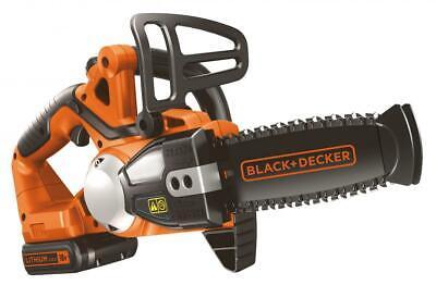 BLACK&DECKER GKC1820L20 Sierra Eléctrica Motosierra con Batería 18V Litio CM.20