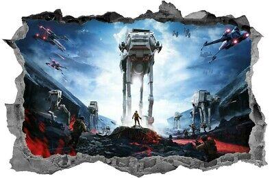 Star Wars,Sticker,3D,Decal,Kids,Bedroom,Wall Art,Mural
