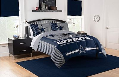 Best Dallas Cowboys Bedding NFL Licensed 3PC Comforter Set Pillowcases Twin
