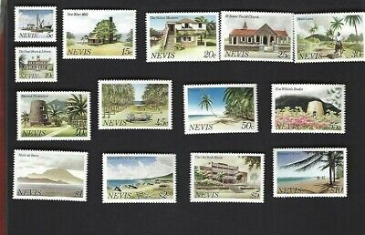 Nevis sc#121-34 (1981) Complete MNH