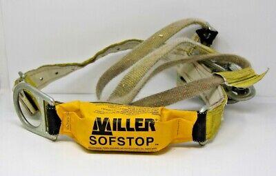 Miller Sofstop Safety Lanyard W 9141 Belt Miller 210wls Lanyard