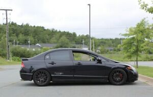 "17"" Fast Wheels off of 2008 Civic Si"
