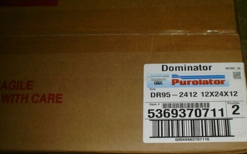 NEW Purolator DR95-2412 RIGID CELL FILTER
