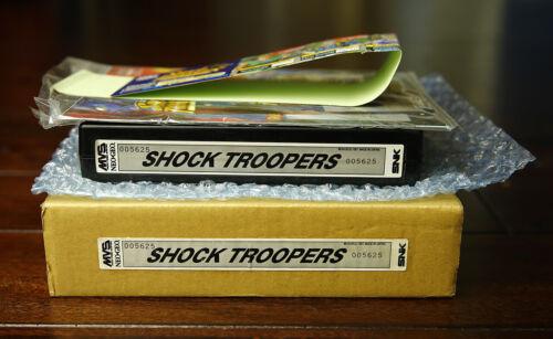 Shock Troopers US English MVS Kit •Neo Geo JAMMA Arcade System • SNK Saurus ST1