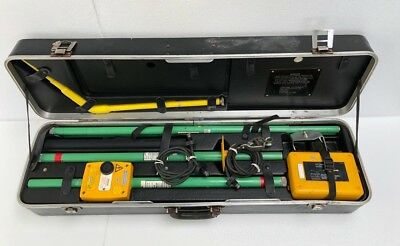 Metrohm Llt 11 Kv High Voltage Live Line Tester Full Set 3 -free Shipping-