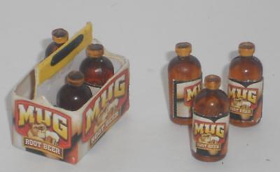 Six-Pack Bier/Bierflasche,Maßstab 1:12,Miniatur f.d. Puppenstube/Puppenhaus #01# (Six Pack Bier)