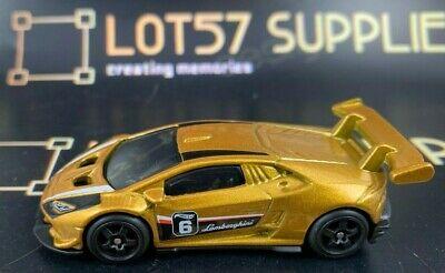 Hot Wheels 1:64 LOOSE Lamborghini Huracan LP TROFEO Custom SUPER w/Real Riders