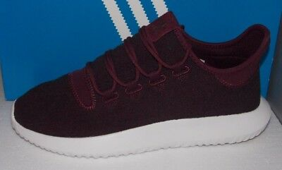 a9392c7a7af15 MENS ADIDAS TUBULAR SHADOW in colors MAROON   VAP GREY   WHITE SIZE 13
