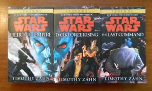 Star Wars Thrawn Trilogy w/new cover painting Heir to the Empire Dark Force