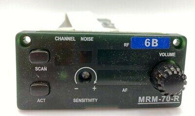 MIPRO WIRELESS MRM-70-R Single-Channel Diversity Receiver Module 6B FREQ -