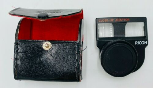 Ricoh Close-Up Adaptor and Ricoh Tele Conversion Lens TC-3 with Case