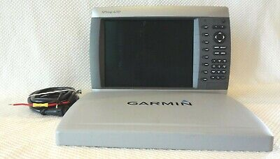 GARMIN GPSMAP 4210 CHART PLOTTER RADAR FISH FINDER WEATHER GPS w/ POWER & COVER