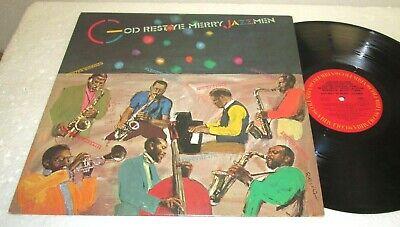 GOD REST YE MERRY JAZZMEN V/A LP NM US VINYL JAZZ CHRISTMAS DEXTER GORDON ()