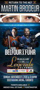 HAGGAR HOCKEY HALL OF FAME LEGENDS CLASSIC