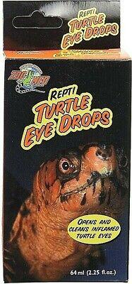 Zoo Med Turtle Eye Drops Repti Turtle & Reptile Vitamin-A Eye Drop Meds MD-30 Turtle Eye Vitamins