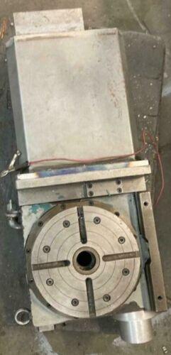 """9"""" CNC ROTARY TABLE 4TH AXIS MILLING CENTER TSUDAKOMA RNCV-201 R-2"""