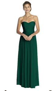 4 NEW Hunter Green Bridesmaids Dressses