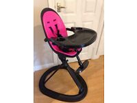 Ickle Bubba Orb high chair! -black/pink