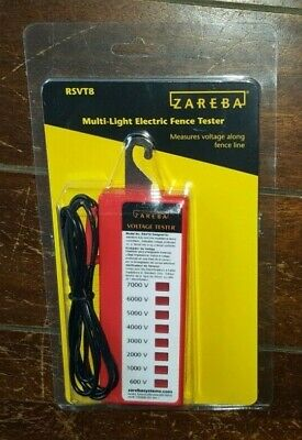 Zareba A1lvt-z Universal Electric Fence Wire Voltage Tester 6410229 for sale online