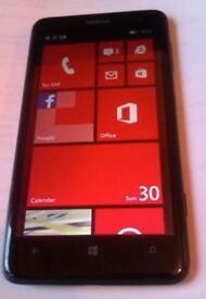 Nokia Lumia 625 - VODAFONE - 8GB + Windows 8 - FULLY WORKING - Bargain at £20 + CAN DELIVER
