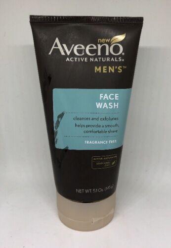 Aveeno Active Naturals Men's Face Wash, 5.1 oz