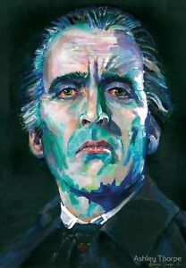 Christopher Lee   DRACULA - LTD Edition Signed and numbered prints by FANGORIA