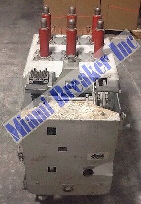 GE Am4.16-250-7H Magne-Blast Circuit Breaker 1200 Amp  Max Voltage 4760 60 Cycle