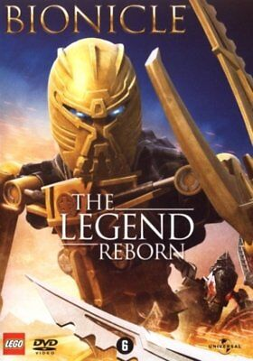DVD - BIONICLE THE LEGEND REBORN (ANIMATIE)  2009  NOUVEAU/ NEW / NIEUW / SEALED