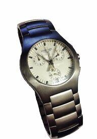 Longines Oposition Chronograph Quartz Watch