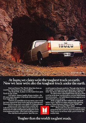 1984 Isuzu Pup Truck Classic Advertisement Ad P60