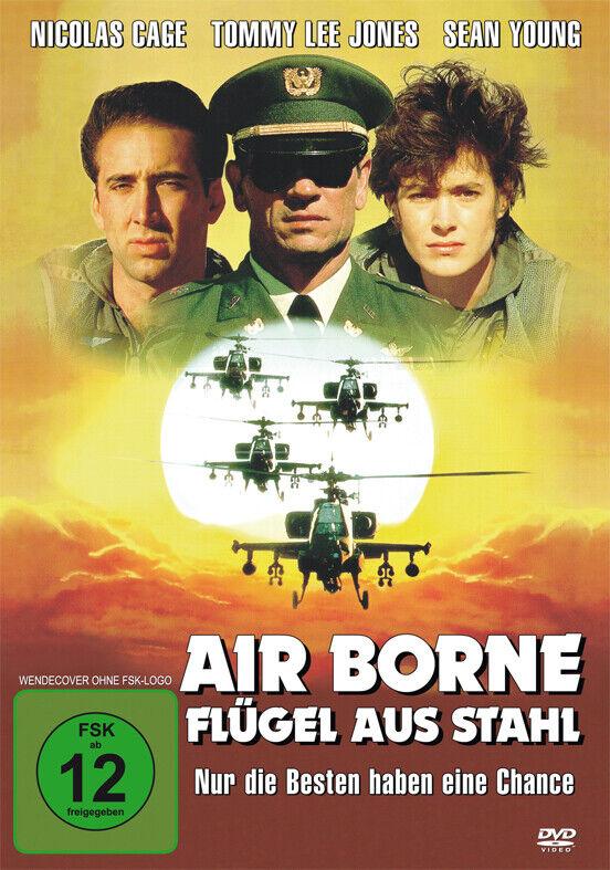 DVD Nicolas Cage Airborne - Flügel aus Stahl Tommy Lee Jones Sean Young deutsch