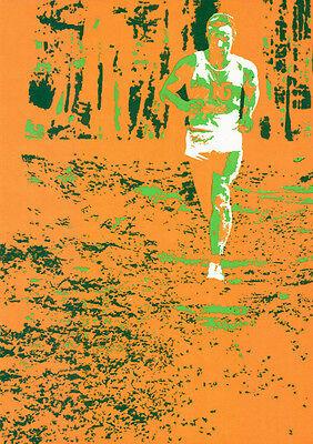 """Olympische Spiele 1972 München Motiv """"TEST-PLAKAT MARATHON"""" DIN A0 Otl Aicher"""