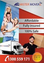 MISTER MOVER FULLY INSURED AND RELIABLE SERVICE (MELBOURNE WIDE) Truganina Melton Area Preview