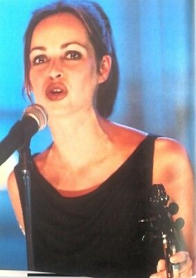 The CORRS 'lips' magazine PHOTO/Poster/clipping 11x8 inches