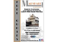 Scaffolding Services - Marshall Scaffolding - Free Quotes and Competitive Pricing