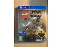 Lego Star Wars The Force Awakens PS4 Steelbook Deluxe Edition