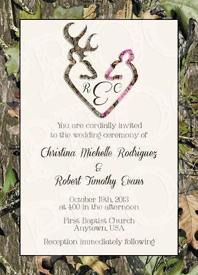 camo wedding invitations  ebay, Wedding invitations