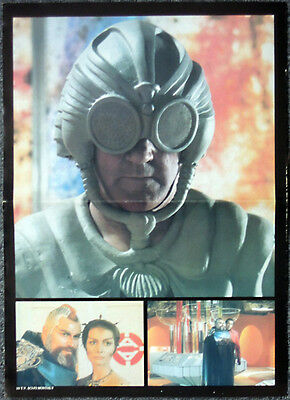 SPACE 1999 POSTER . MAYA - CATHERINE SCHELL & BRIAN BLESSED . 2E