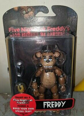 FNAF Five Nights At Freddy's FREDDY Articulated Action Figure Funko  New - Five Freddy's At Night