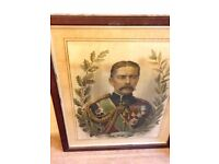 70% OFF Antique FRAMED POSTER 67 x 79 cm £50