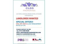 landlords wanted