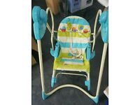 Fisher price smart stages 3 in 1 baby rocker swing