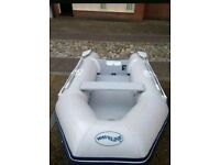 Waveline 2.7m inflatable dinghy boat + outboard