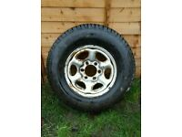 Nissan Terrano / Ford Maverick 15 inch Steel Wheel from a 1997