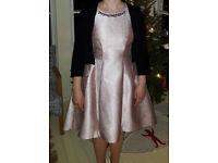 Coast fifties style pink dress SIZE 12