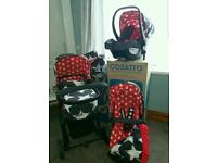 Cosatto giggle hipstar travel system