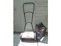 AL-KO 2.8 Hm push lawn mower and collection box almost new