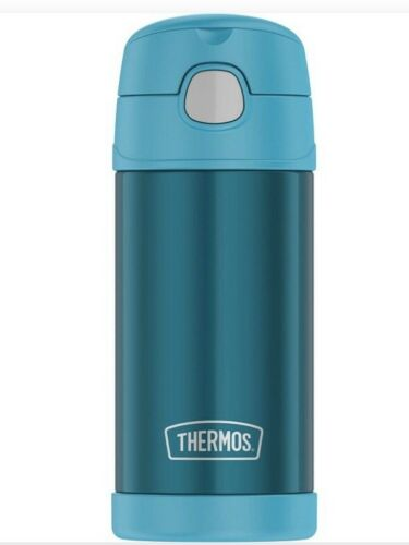 Thermos Insulated Durable Funtainer Straw Bottle, 12 oz