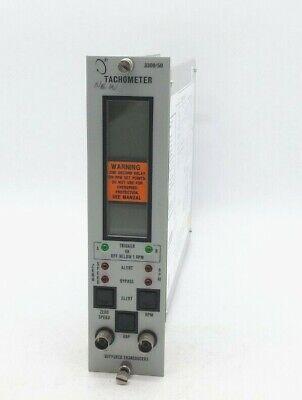Bentley Nevada 330050-02-02-00-00 Pn 83630-01 Tachometer Monitor